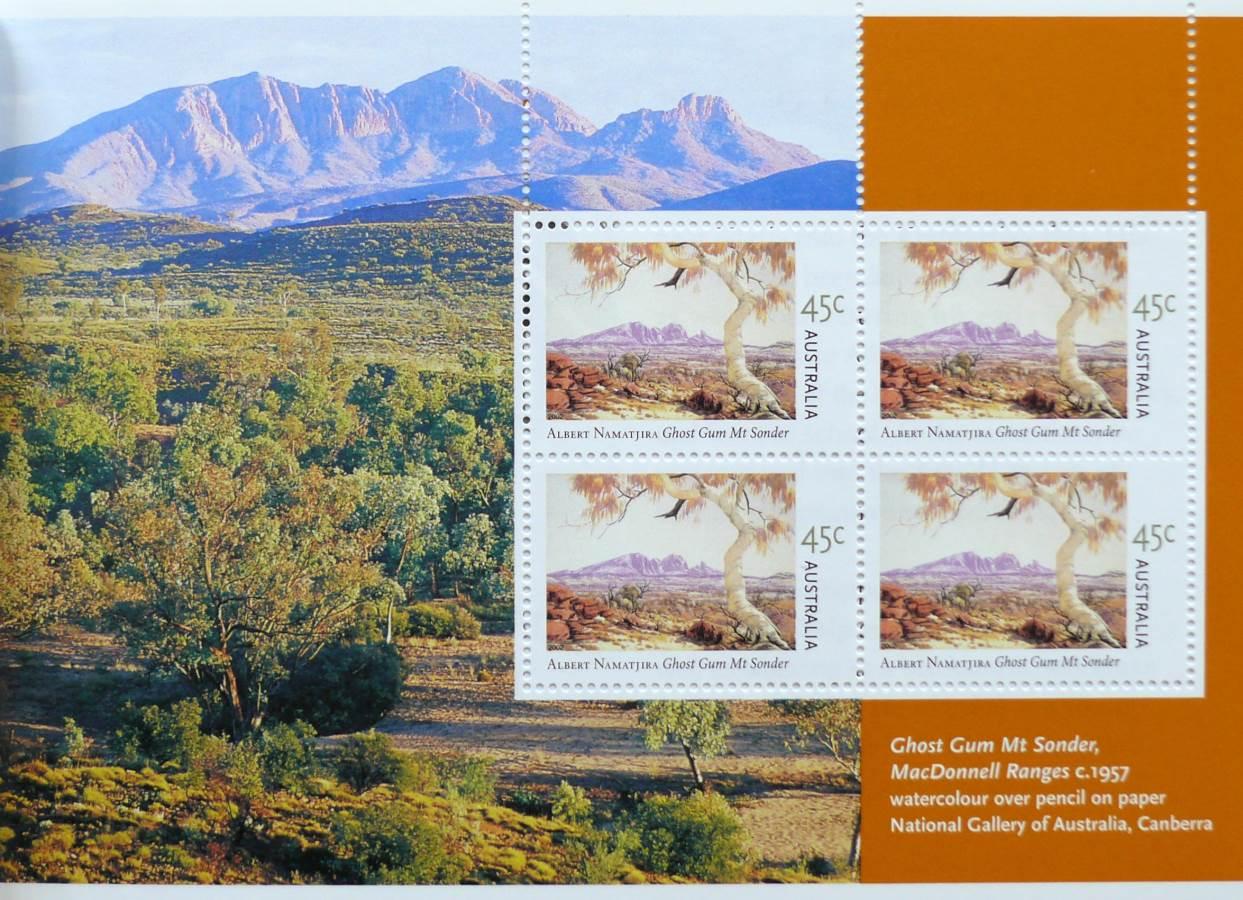 2002 Australia Post Prestige Booklet - Albert Namatjira