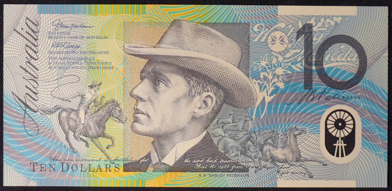2003 Australia Ten Dollars Polymer - CB 03