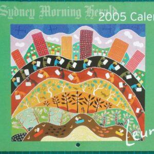 2005 Michael Leunig Sydney Morning Herald Calendar New
