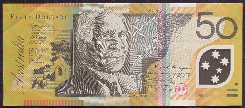2005 Australia Fifty Dollars - HD 05