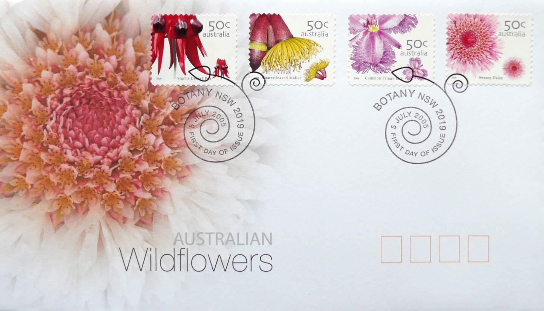 2005 Australia Post FDC - Australian Wildflowers