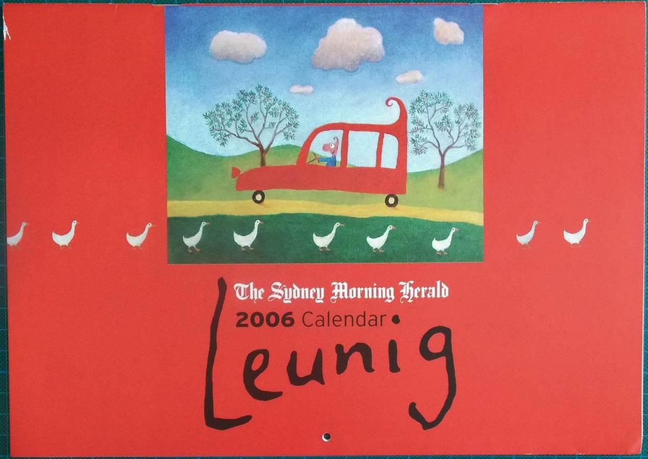 2006 Michael Leunig Sydney Morning Herald Calendar New