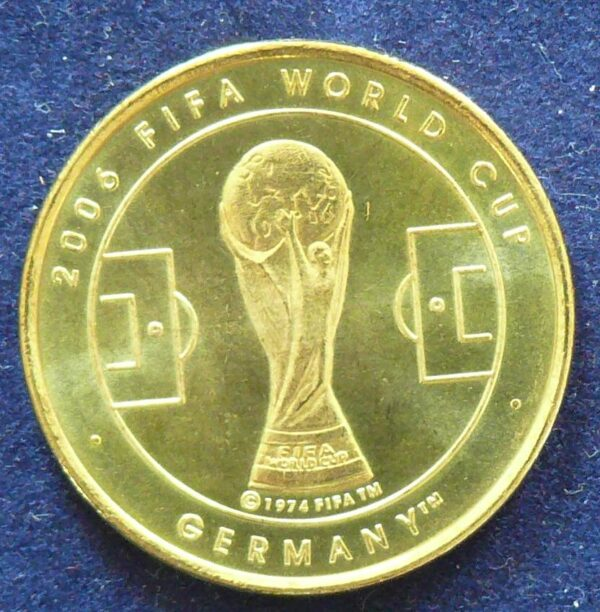 2006 Australia FIFA World Cup Soccer Token