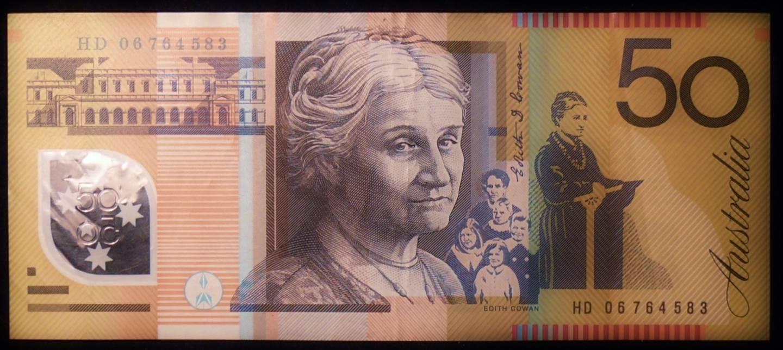 2006 Australia Fifty Dollars - HD 06