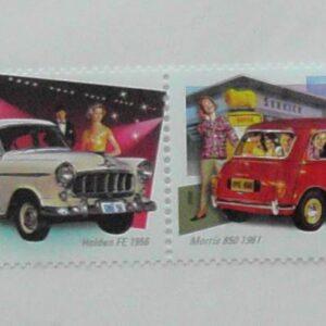 2006 Australia Post - Driving Through The Years Strip