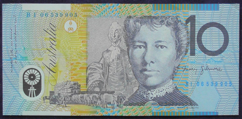2006 Australia Ten Dollars Polymer - BI 06