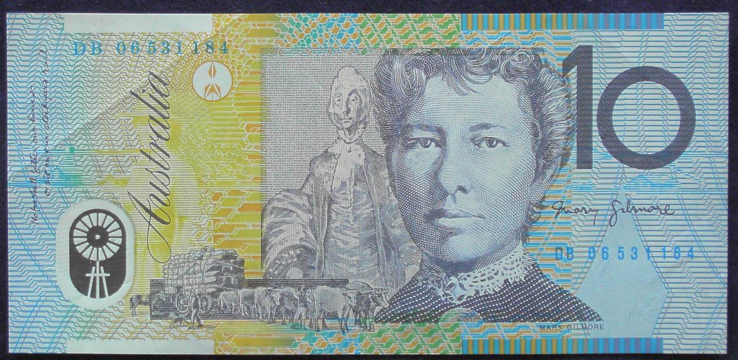 2006 Australia Ten Dollars Polymer - DB 06
