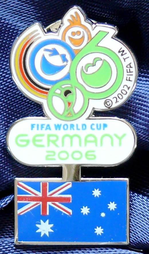 2006 FIFA World Cup - World Cup Australia Pin