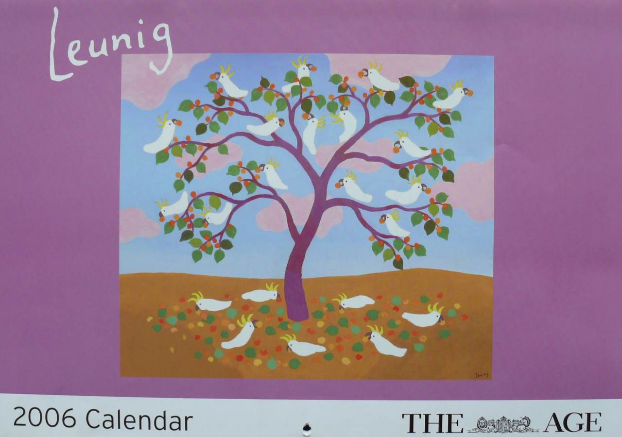 2006 Michael Leunig  - Melbourne Age Calendar