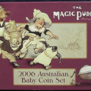 2006 RAM Decimal Proof Baby Set - The Magic Pudding