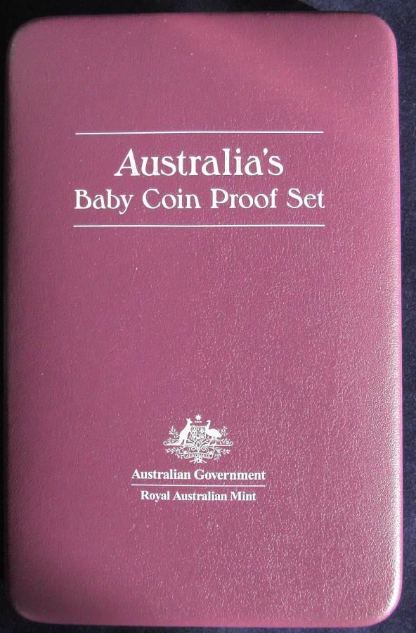 2006 RAM Decimal Proof Baby Set - The Magic Pudding