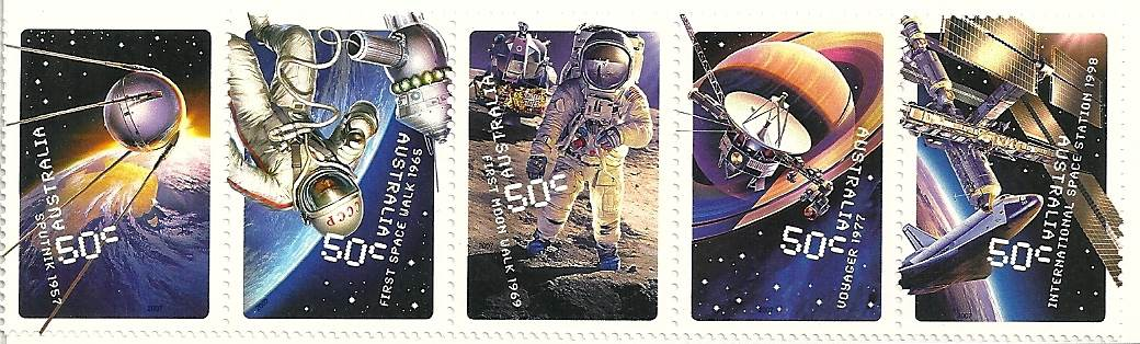 2007 Australia Post - Blast Off! 50 Years In Space
