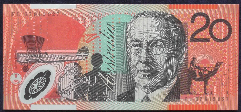 2007 Australia Twenty Dollars - FL07