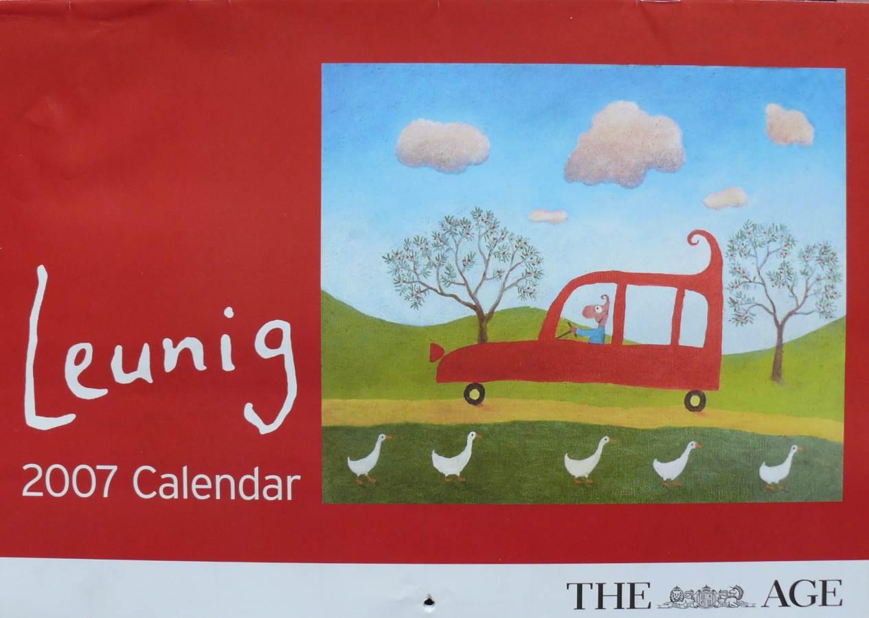2007 Michael Leunig  - Melbourne Age Calendar