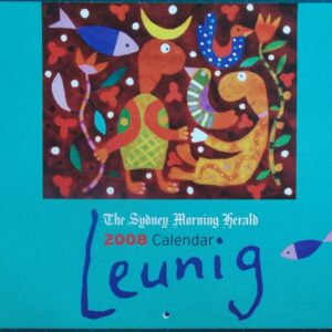 2008 Michael Leunig Sydney Morning Herald Calendar New