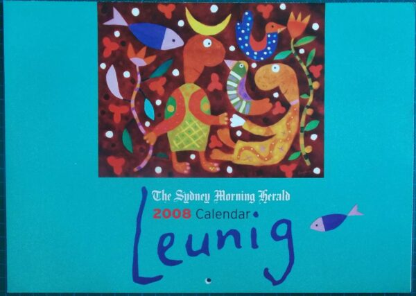 2008 Michael Leunig Sydney Morning Herald Calendar New