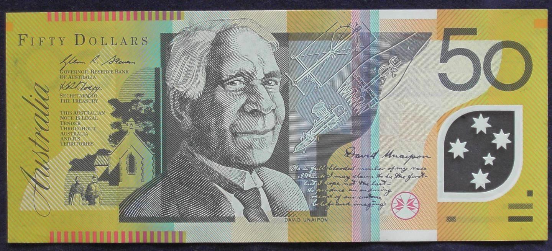 2008 Australia Fifty Dollars - BH 08