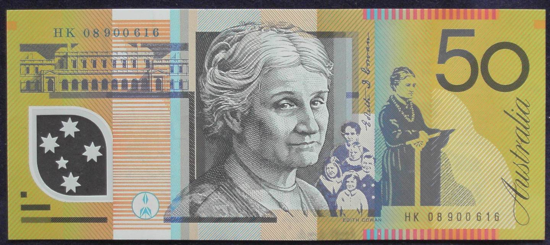 2008 Australia Fifty Dollars - HK 08