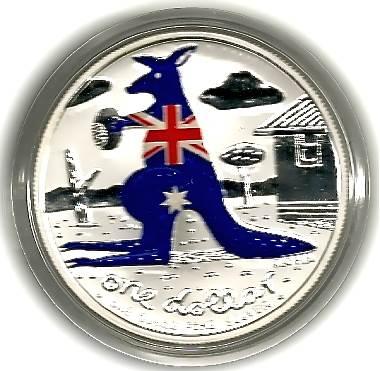 2008 Kangaroo One Dollar - Reg Mombassa