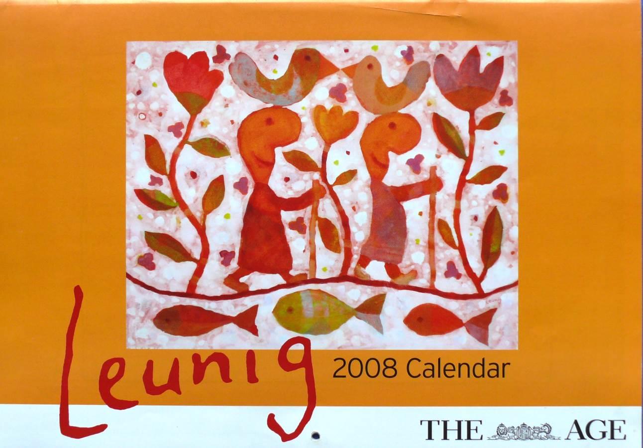 2008 Michael Leunig  - Melbourne Age Calendar