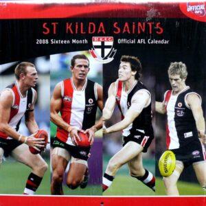2008 St. Kilda Football Club AFL Annual Club Calendar