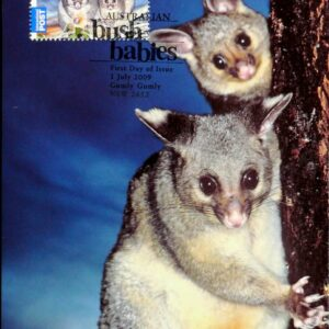 2009 Australia Post Maximum Card - Possum Bush Babies