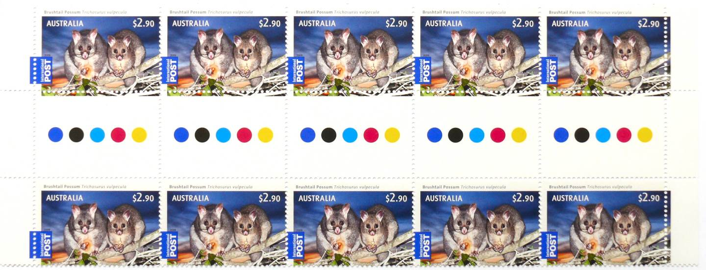 2009 Australia Post Possum Bush Babies Full Sheet
