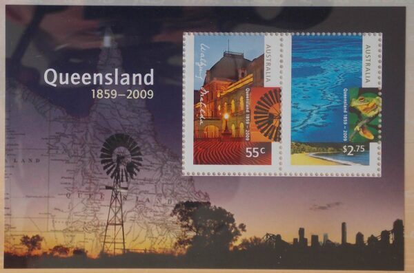 2009 Australia Post Stamp Pack 150 Years Queensland
