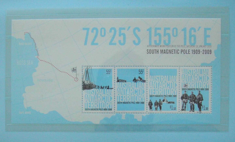 2009 Australia Post Stamp Pack Aust. Antarctic Territories