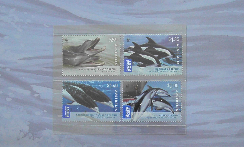 2009 Australia Post Stamp Pack - Dolphins of the Coastline