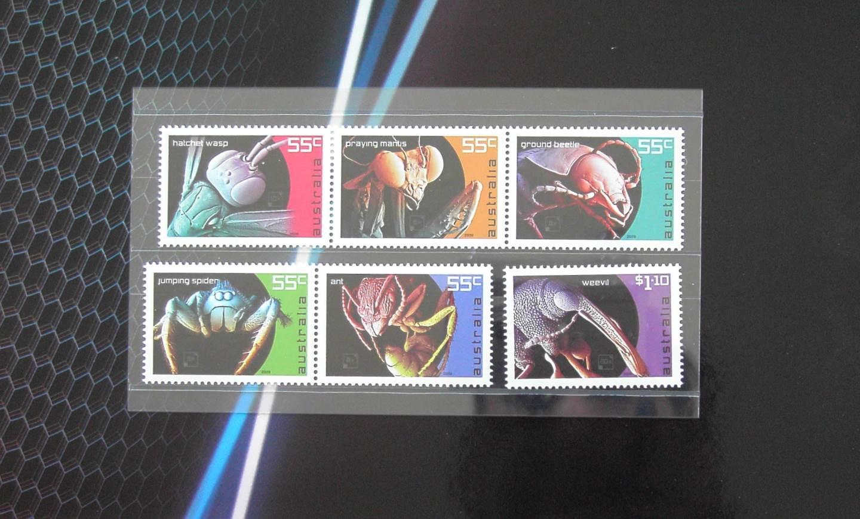 2009 Australia Post Stamp Pack - Micro Monsters