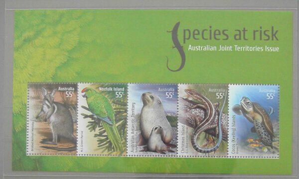 2009 Australia Post Stamp Pack - Species At Risk