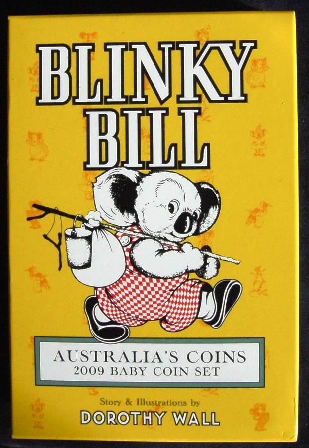 2009 RAM Decimal Proof Baby Set - Blinky Bill
