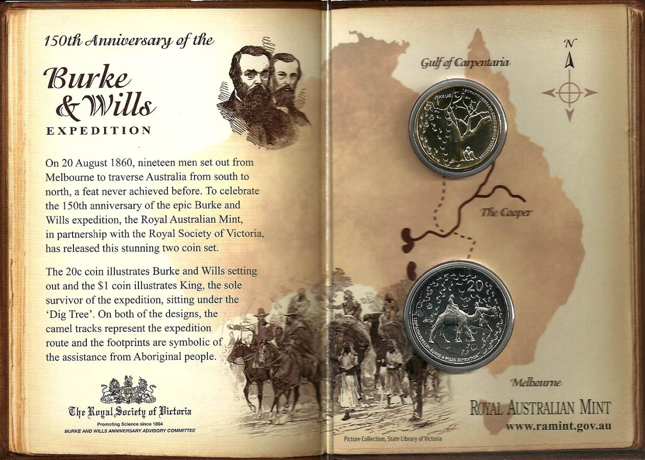 2010 150th Anniversary of Burke + Wills Expedition