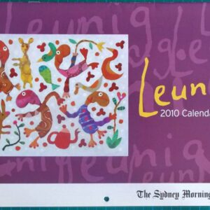2010 Michael Leunig Sydney Morning Herald Calendar New