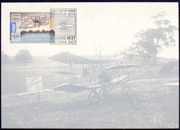 2010 Australia - Centenary Of Powered Flight - John Duigan