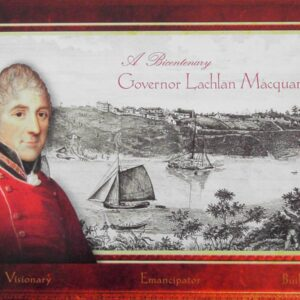 2010 Australia Post Booklet - Governor Lachlan Macquarie