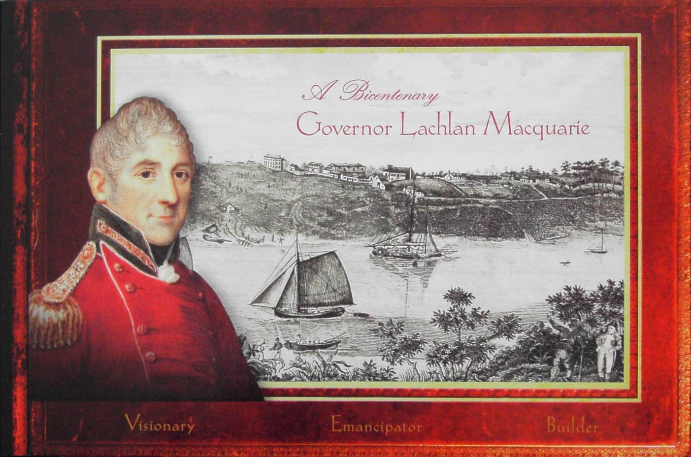 2010 Australia Post Booklet - Governor Lachlan Macquarie