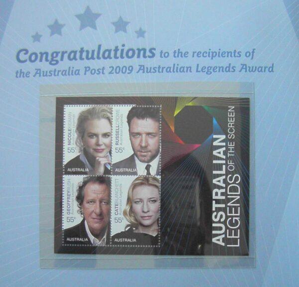 2010 Australia Post Prestige Book - Australian Film Institute