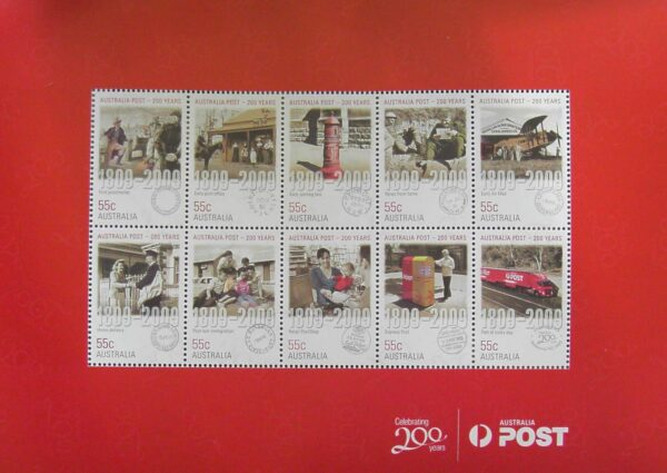2010 Australia Post Prestige Collection - 200 Years Post