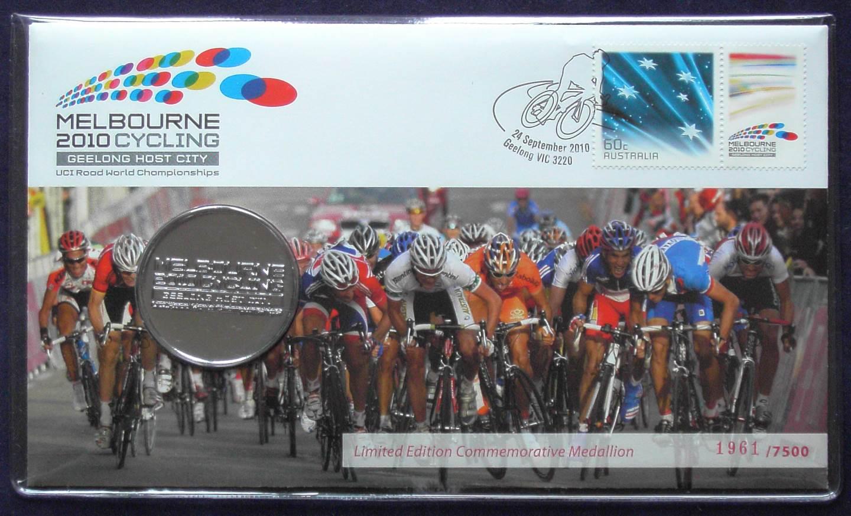 2010 Australia UCI World Cycling Championships Token