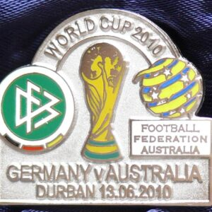 2010 FIFA World Cup - Australia Vs Germany Match Pin
