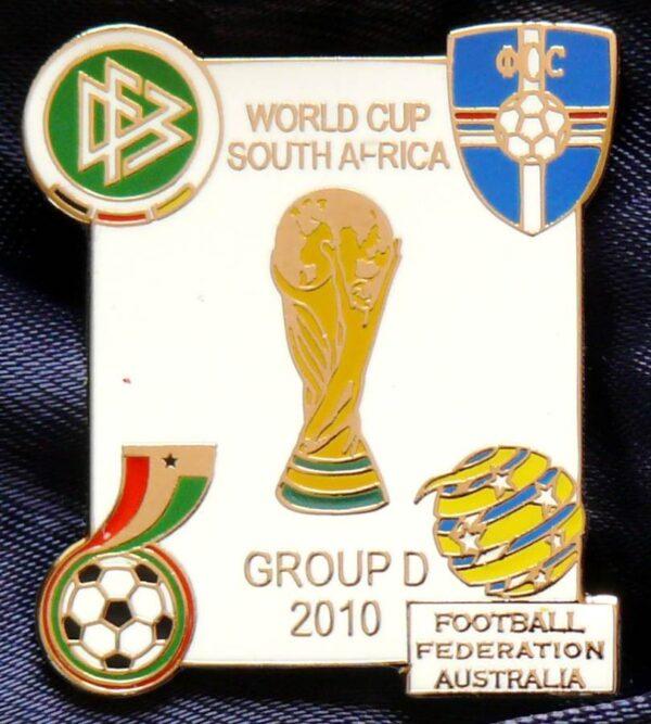 2010 FIFA World Cup - Group D - Metal Pin