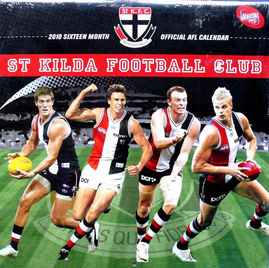 2010 St. Kilda Football Club AFL Annual Club Calendar
