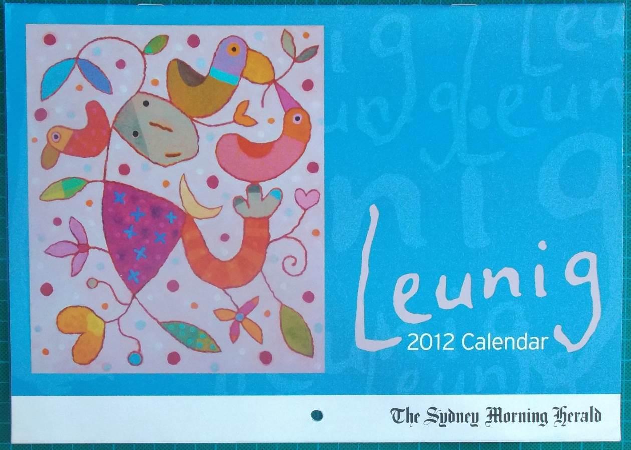 2012 Michael Leunig Age or SMH Calendar New