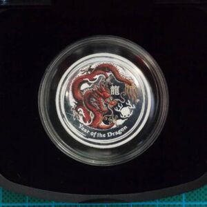 2012 Australian Lunar Silver Coin Series II - 1/2 oz. Year Of The Dragon