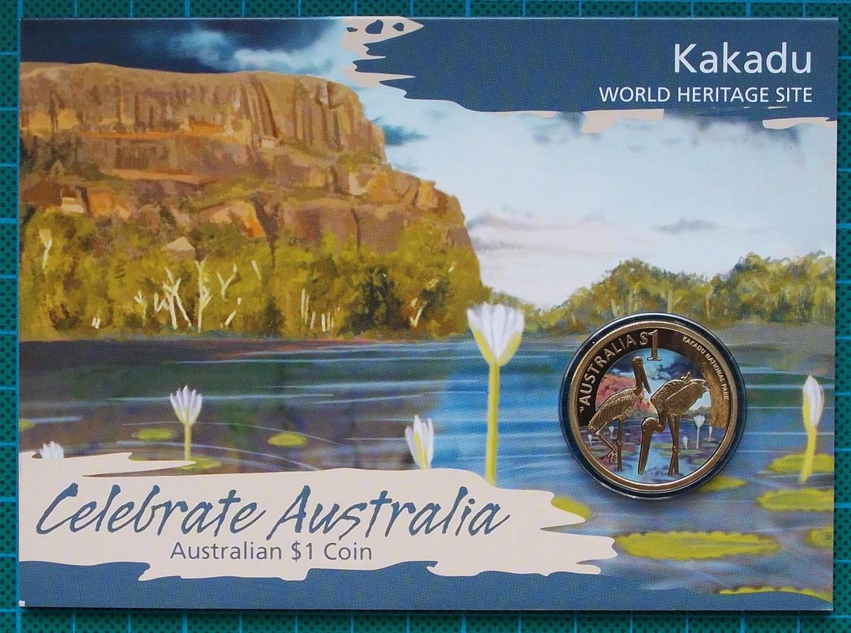 2012 Celebrate Australia – World Heritage Sites $1 Coin Collection