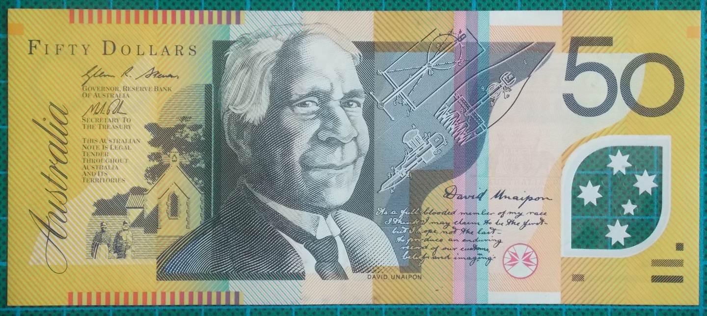 2013 Australia Fifty Dollars DE13164260