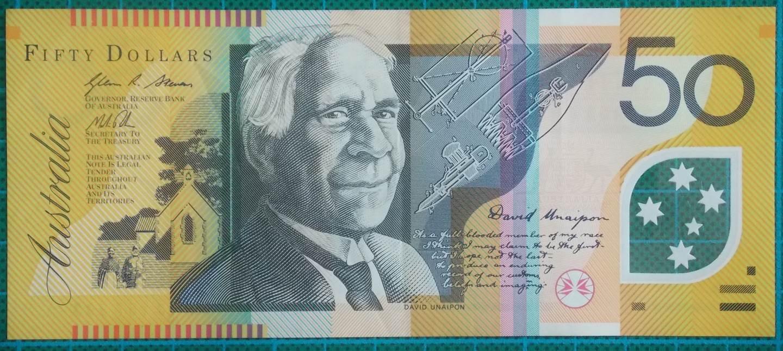 2013 Australia Fifty Dollars Banknote FK13157393