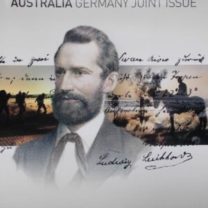 2013 Australia Post Stamp Sheetlet Pack Ludwig Leichhardt Joint Issue with Germany